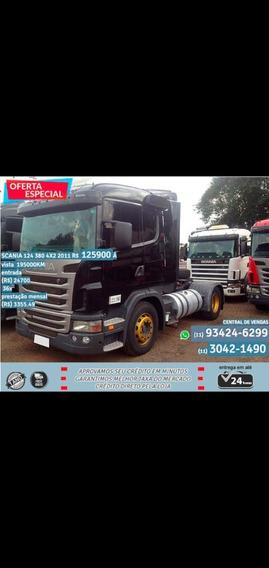 Scania 124 380 4x2 2011 Preto