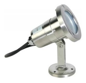 Reflector Led Luminario Exterior Mr16 35w Acero Jardin Calux