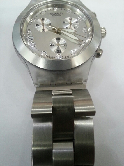 Relogio Swatch Irony Original Diaphane Svck4038g