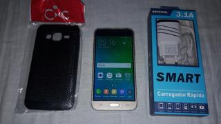 Samsung Galaxy J3 8gb Dual Sim + Acessórios-( Leia )