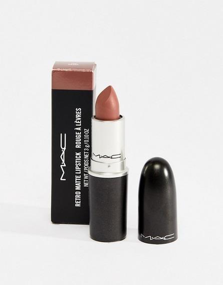 Mac - Labial Retro (satin) Maquillaje 100% Original !