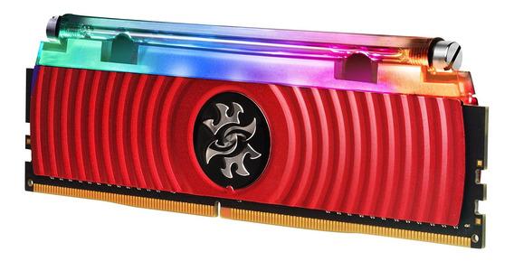 Memoria Ram 16gb Xpg Spectrix D80 Liquid-cooled Rgb Ddr4 3600mhz (2x8gb) 288-pin Pc4-28800 U-dimm Retail Kit (ax4u360038