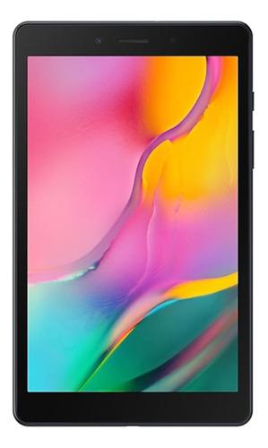 """Tablet Samsung Galaxy Tab A 2019 SM-T295 8"""" 32GB black com memória RAM 2GB  e conexão de telefone celular"""