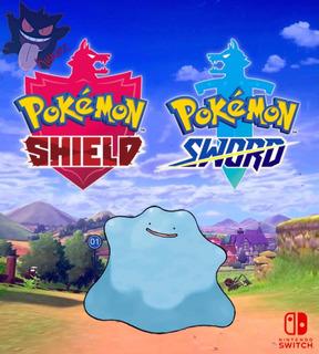 Ditto Shiny Japonés 6 Ivs Pokémon Espada Escudo Sword Shield