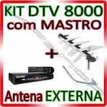 Kit Conversor Digital Aquario/antena Receptor (na Caixa)