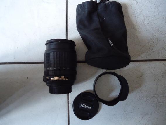 Lente Nikon 18-105 Mm -semi Nova