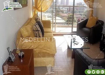 Arrendamiento Amoblados Por Meses Medellín Cód: 4372