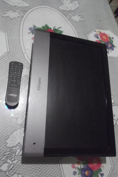 Pantalla, Carcaza Y Cr Monitor Tv Puemium 17 Para Repuesto