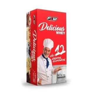 Suplemento Alimentar 24 Saches De Whey Para Treinos Academia