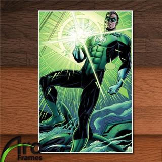 Placa Decorativa Mdf Hal Jordan Lanterna Verde Dc Comics Hq