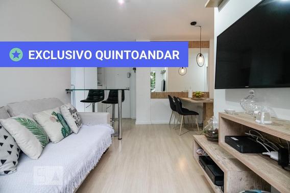 Apartamento No 3º Andar Com 2 Dormitórios E 1 Garagem - Id: 892959716 - 259716