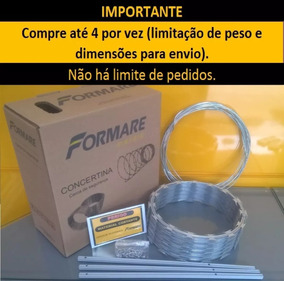 Concertina 30cm Kit 10 Metros - Campeão De Vendas!! 12x !!