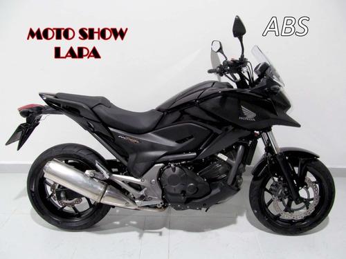 Honda Nc 750x 2015 Abs Preta