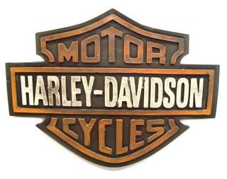 Placa Harley Davidson Logo