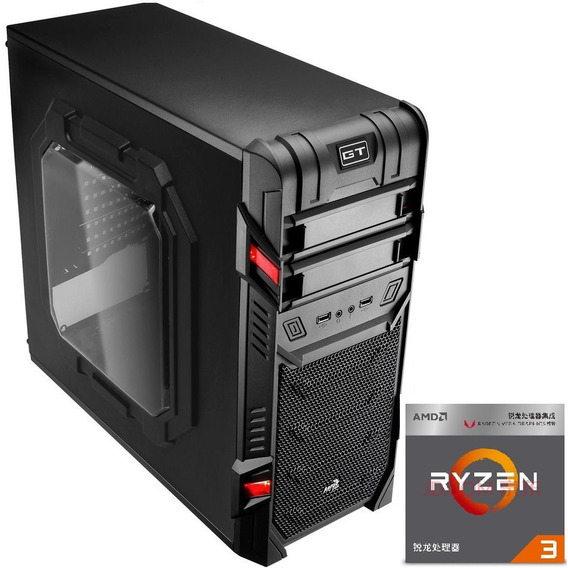 Pc Gamer Ryzen3 3200g Vega Granphis8+ 16gb Ram+ Hd1tb+ 400w