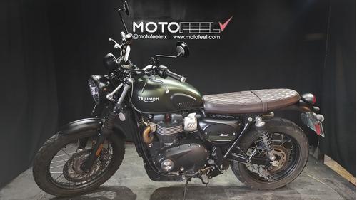 Imagen 1 de 10 de Motofeel Cdmx - Triumph Street Scrambler 900 @motofeelmx