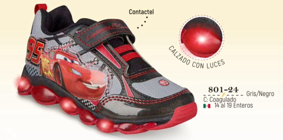 Tenis Con Luz Cklass Kids&teans Cars 801-24 Cfd Remate