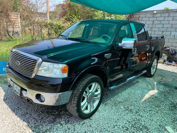 Ford Lobo 2007 5.4 Lariat Cabina Doble 4x4 Mt