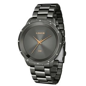 Relógio Lince Feminino Lry619l G1gx - Fumê