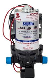 Bomba P/ Água Solar Flutuante Shurflo 2088 443 144 12v