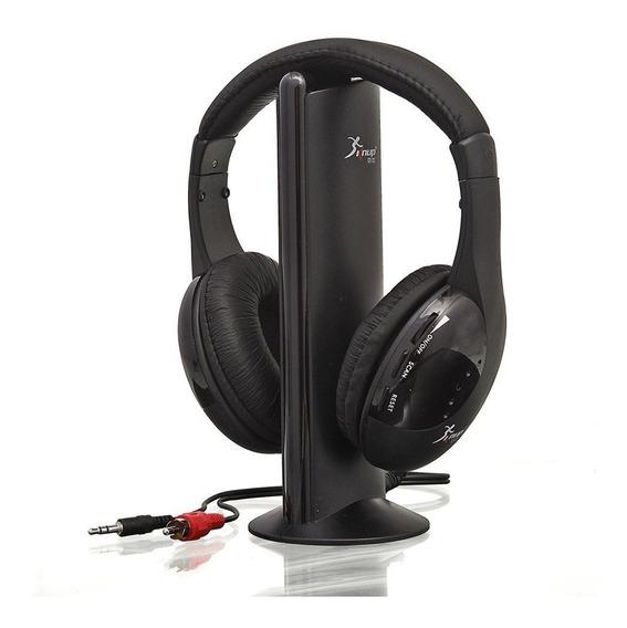 Fone De Ouvido Sem Fio 5 Em 1 Headset Wireless Knup Kp-323 T