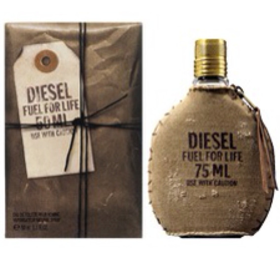 Perfume Diesel Fuel For Life Edt Masculino 75ml Selo Adipec
