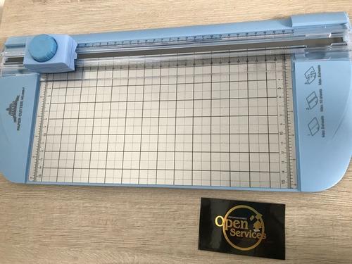 Imagen 1 de 2 de Guillotina Rotativa A4 Jielisi 3 Tipos De Corte