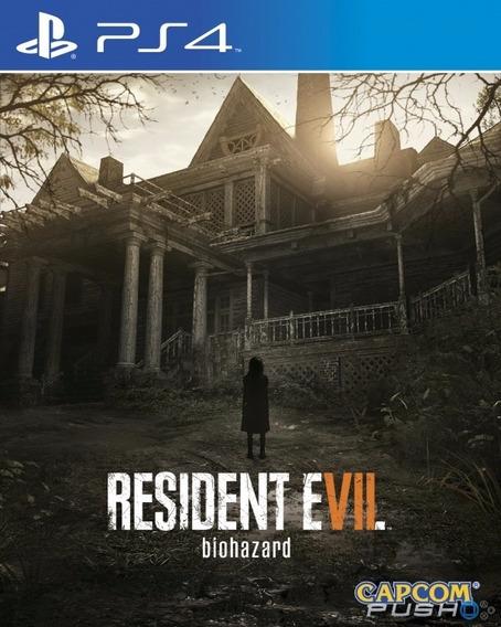 Resident Evil 7 Ps4 Mídia Digital Envio Imediato Psn 1