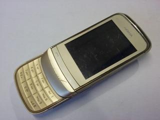 Celular Nokia C2-06 Dourado Com Defeito - 9185