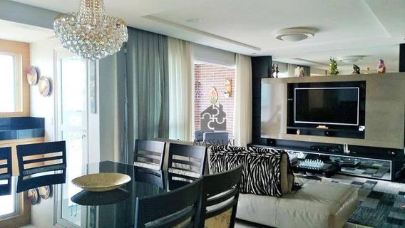 Apartamento De 3 Dormitórios Com 2 Vagas No Riserva Menino Deus À Venda No Bairro Menino Deus - Porto Alegre/rs - Ap1682