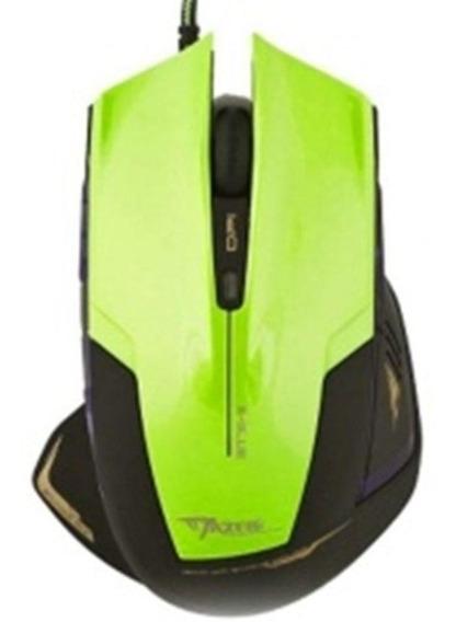 Mouse Gamer E-blue Mazer Type-r 2400dpi - Green Ems124gr