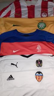 4 Camisas+1 Moletom Futebol Áustria Valência Olympiacos Hola