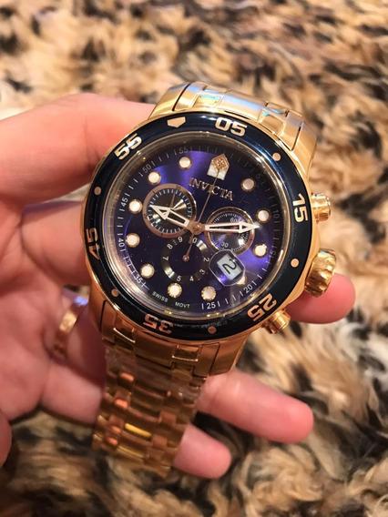Promoção Relógio Invicta Prodiver V/cores 072/074/077/075