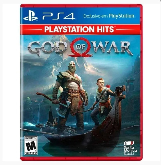God Of War Ps4 Playstation Hits Midia Fisica Lacrado Dublado