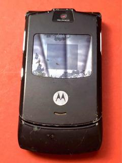 Celular Motorola V3 - Flip Preto