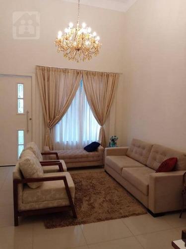 Casa Com 3 Dormitórios À Venda, 180 M² Por R$ 670.000,00 - Condomínio Serra Dourada - Araçatuba/sp - Ca1028