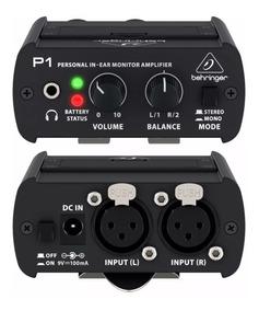 Behringer Powerplay P1 Amplificador Fone Ouvido Powerclick