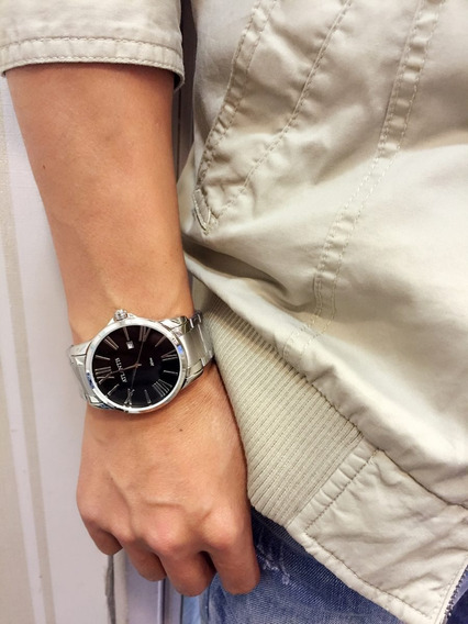 Relógio Masculino Original Atlantis Romano Pulso + Caixa