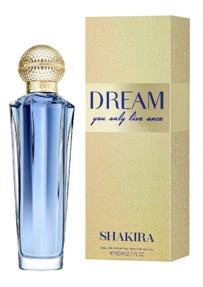 Perfume Shakira Dream Feminino Eau De Toilette 80ml