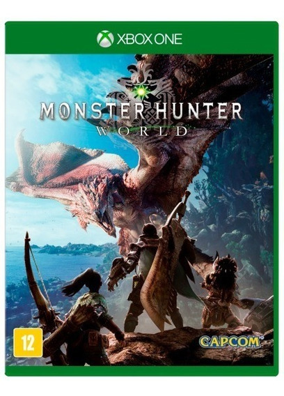 Jogo Monster Hunter World Xbox One Mídia Física Novo Lacrada