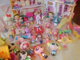 Combo Juguetes Niña, Incl. Casita Y Barbie Articulad + De 70