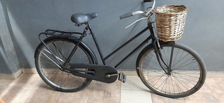 Bicicleta Inglesa De Dama Rodado 26 Negra..en Berazategui.