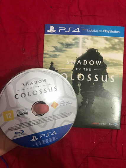Jogo Shadow Of The Colossus