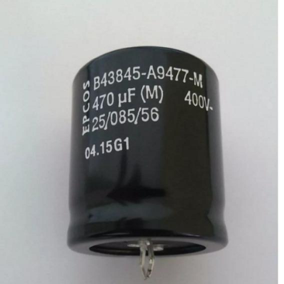 Capacitor Eletrolítico 470uf X 400v (kit 10pçs)