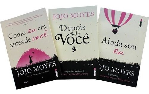 Coleção Jojo Moyes - Como Eu Era Antes De Você + 2 Livros