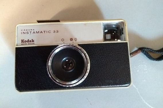 Máquina Fotográfica Kodak Instamatic 33