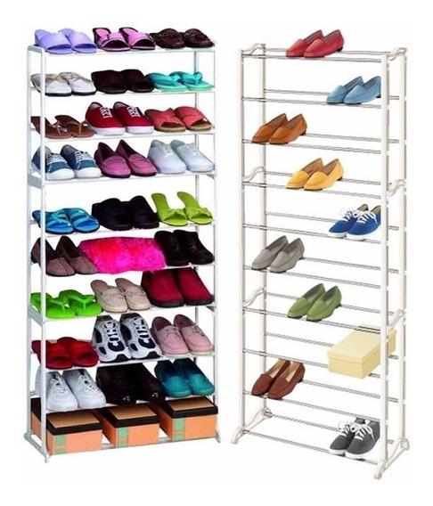 Sapateira 30 Pares 10 Andares Vertical Sapatos Casa Quarto