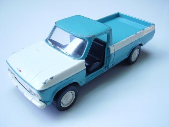 Carros Nacionais Chevrolet C15 Azul S/portas Escala 1:43