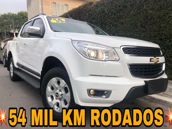 S10 Ltz 2.4 Flex Cab Dupla Nova Apenas 54.975 Km Rodados !!!