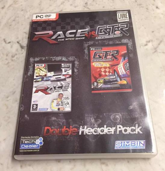 Game Gtr E Race 07 Pack Pc Dvd Wtcc Fia Gt Simulação